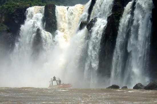 Iguassu Falls Tour with Boat Ride...