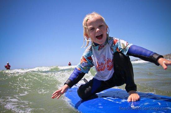 San Diego Surflessen voor kinderen