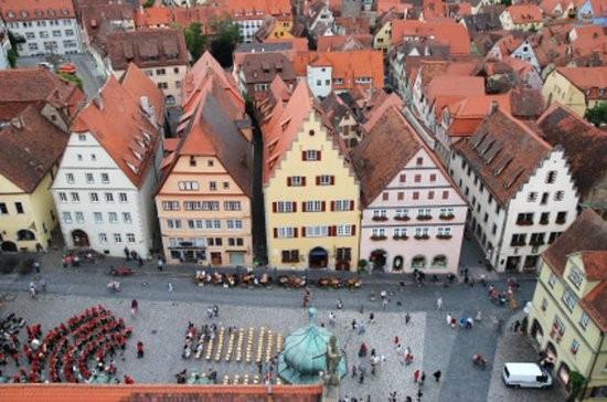 Rothenburg Walking Tour with Luxury Coach from Frankfurt