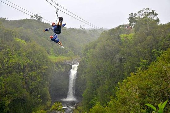 Big Island Zipline, Volcanoes Park...