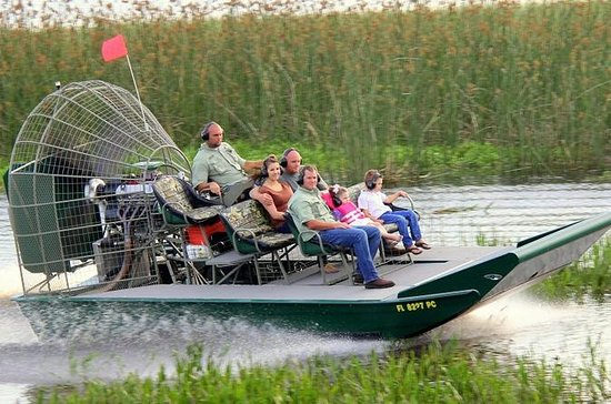 Private Airboat Tour with Alligator...