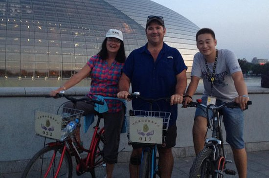 Private Beijing Bike Tour om natten
