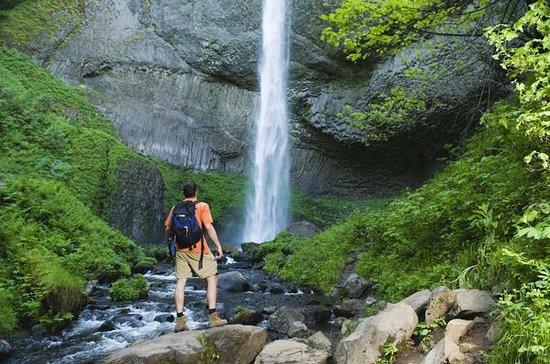 La Chorrera och El Chiflón vattenfall ...