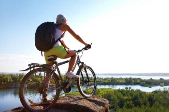 Extrême aventure de vélo de montagne...