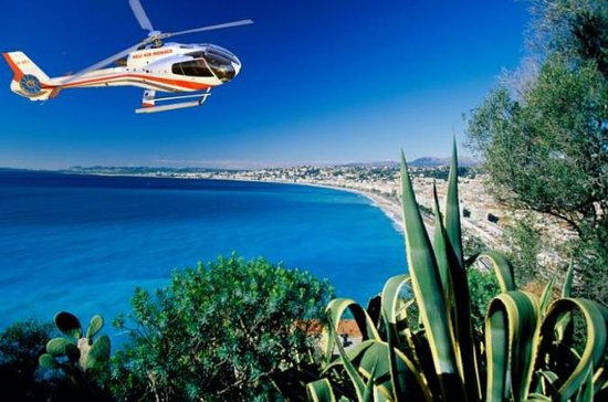 Vol panoramique en hélicoptère au...