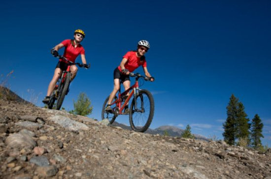 Guided Mountain-Biking Tour of...