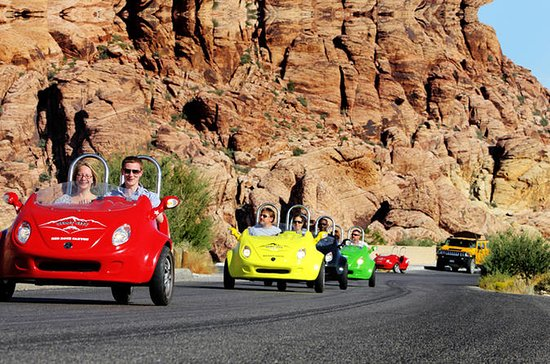 Scooter Car Tour av Red Rock Canyon...