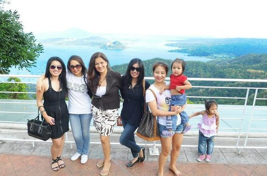 Tagaytay Ridge, Palace in the Sky, Taal Volcano from Manilla
