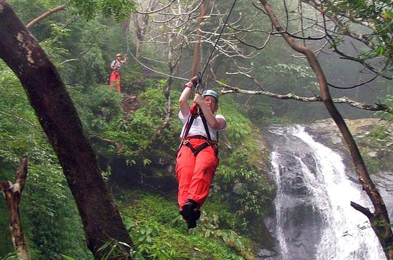 Waterfall Canopy Zipline Tour at ...
