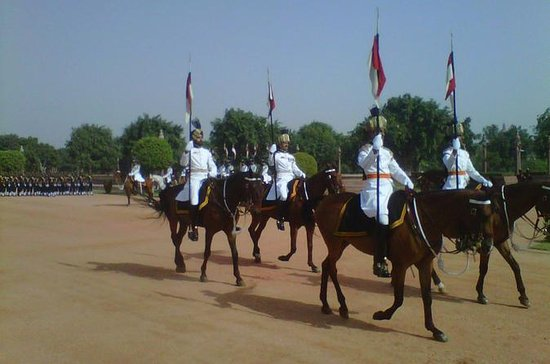 Rashtrapati Bhavan Changing of Guard...