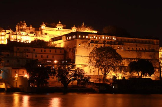 Amber Fort Light e Sound Show com...