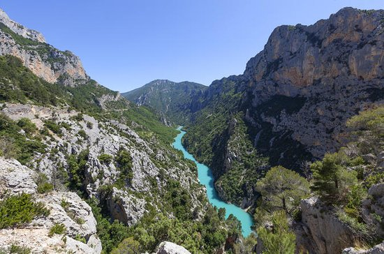 Excursion dans les gorges du Verdon...