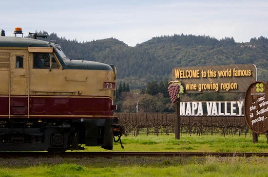 Napa Valley Wine Train with Wine...