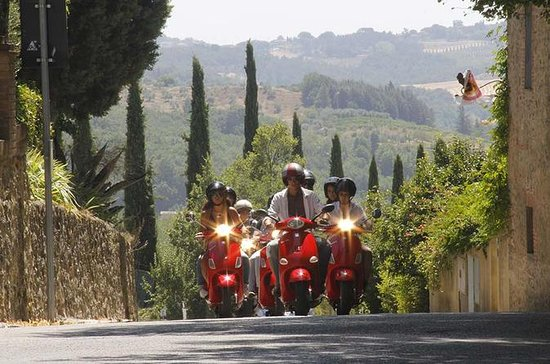 Full Day Tuscany Vespa Tour with...