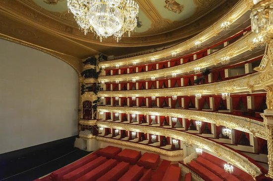 Private Tour of the Bolshoi Theater...