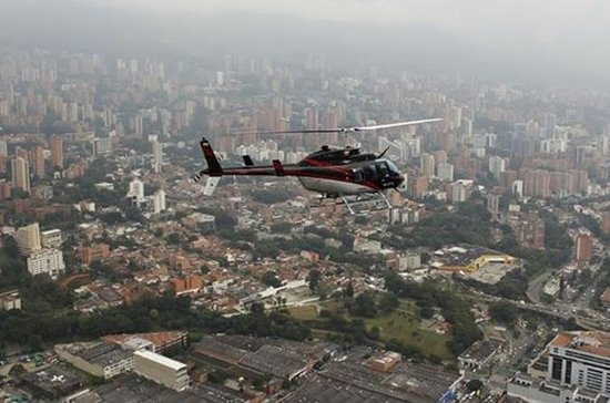 Medellin Helicopter Flight with City...