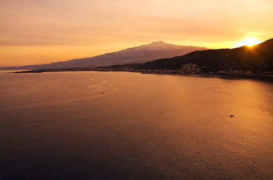 Taormina to Mount Etna Guided Sunset Tour