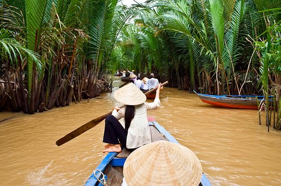 Mekong Delta from Ho Chi Minh City...