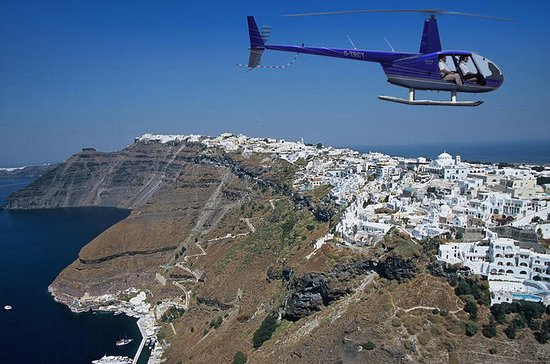 Santorini Private Helicopter Tour...