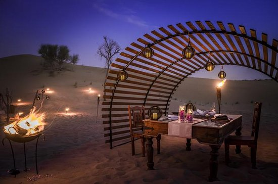 Luxury Dinner in the Desert...