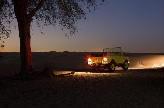 Private Tour: Night Desert Luxury...