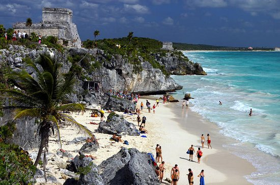 Tulum Ruins; Underground River Swim, Lunch Option from Cancun