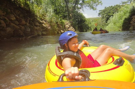 Belize Cave Tubing Adventure from San...