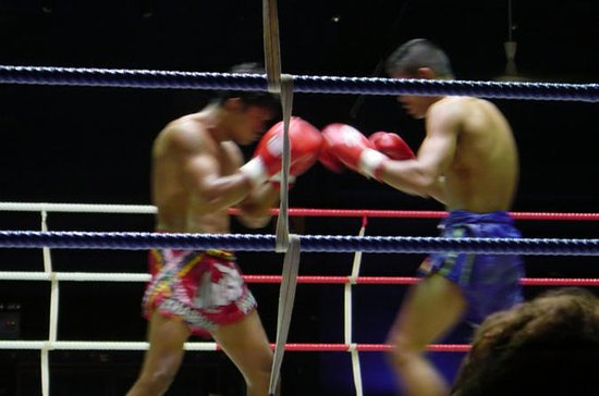 Muay Thai Kickboxing with Ringside...