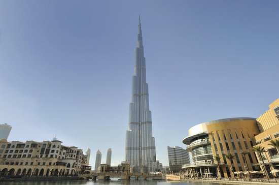 Burj Khalifa 'At the Top' Including Afternoon Tea at Burj Al-Arab