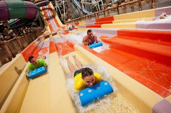 Yas Waterworld Entrance Ticket with...