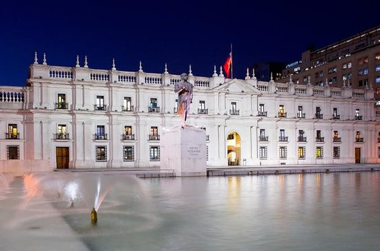 Recorrido turístico nocturno por la ciudad de Santiago para grupos...
