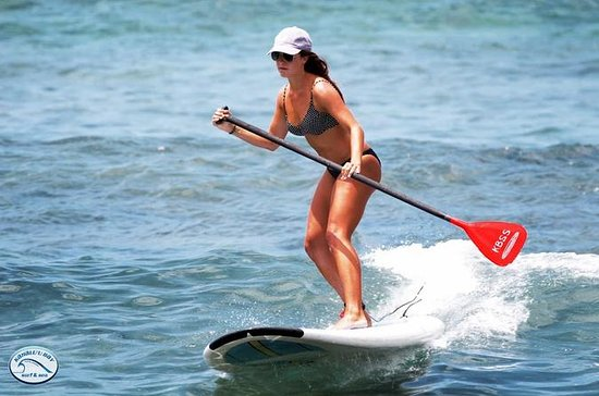 Stand-Up Paddleboard Lesson on the...