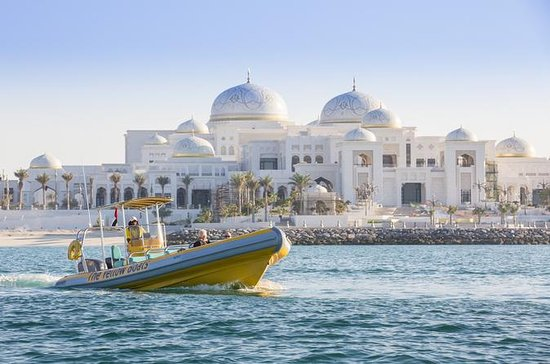 Abu Dhabi RIB Sightseeing Boat Cruise with Experienced Skipper
