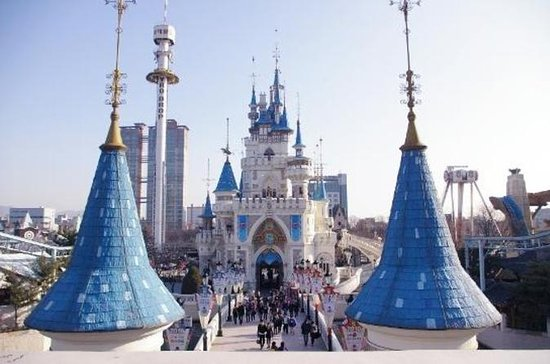 Lotte World Theme Park Half- or...