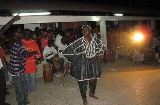 Voodoo-ervaring in Kumasi