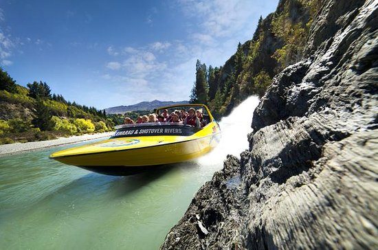 Queenstown Jet Boat Ride on Lake...