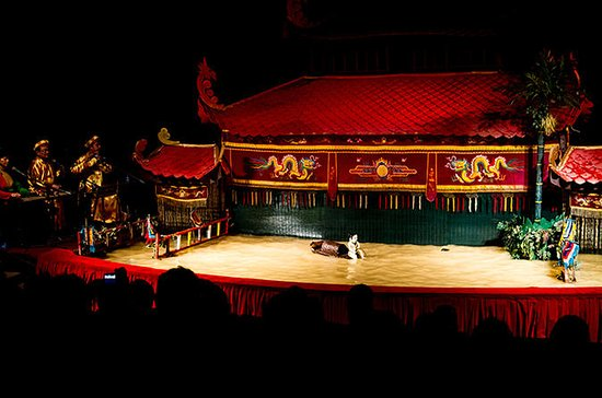 Vietnamese Water Puppet Show and...