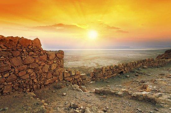 Nascer do sol em Massada, Ein Gedi e viagem até o Mar Morto, saindo...