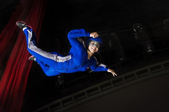 Dubai First-Time Indoor Skydiving...