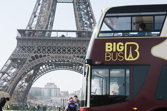 Big Bus Parijs hop-on hop-off tour