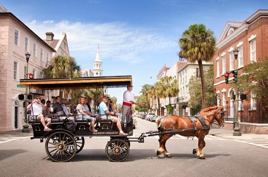 Charleston's Old South Carriage Ride...