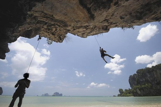 Rock Climbing at Railay Beach from