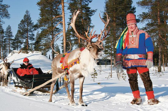 Lapland Reindeer Safari from...