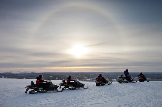 Lapland Wilderness Snowmobile Safari...