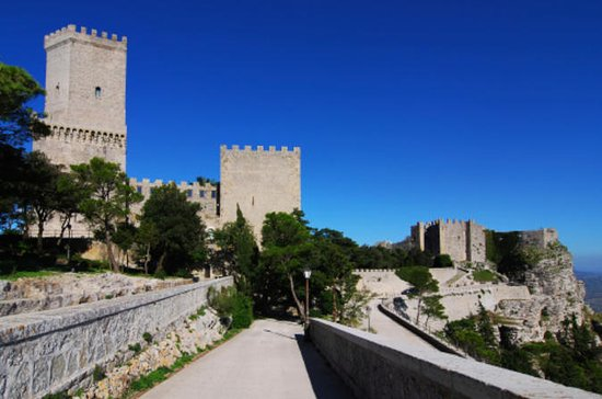Erice and Segesta Day Trip from Palermo with Sicilian Food and Wine...
