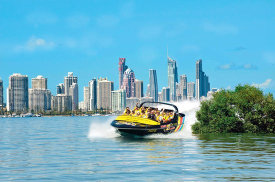 Gold Coast Jet Boat Ride dalla