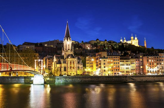 Lyon by Night: Electric Bike Tour...