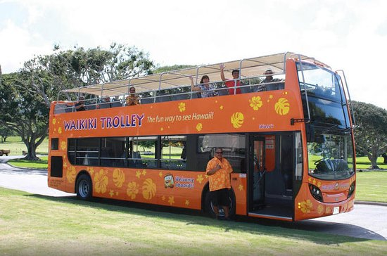 Waikiki Trolley Hop-On Hop-Off Tour...