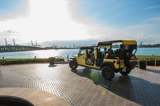 Miami Sightseeing Open-Air Jeep ...