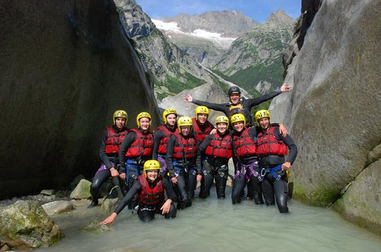 Swiss Alps Grimsel Canyoning...